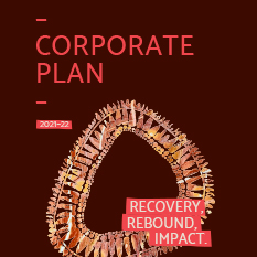 Corporate plan front cover